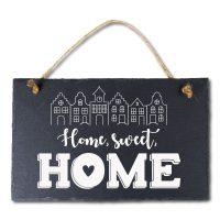 Stone Slogan Home, Sweet, Home