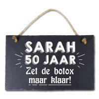 Stone Slogan Sarah