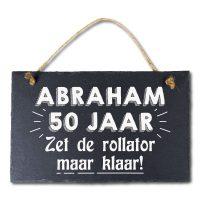 Stone Slogan Abraham