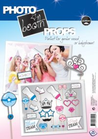 Foto Kit Party Props Gender Reveal 20st