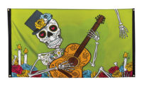 """Vlag """"Day of the Dead"""" 90x150cm"""