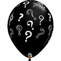 3st Ballonnen met Vraagtekens 16Inch