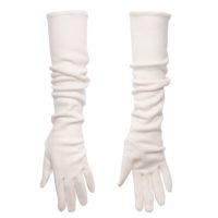 Handschoenen Lang Wit 40cm