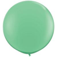 Reuze ballon 90cm Pastel Winter Groen