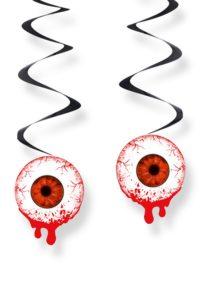 3st Swirl Hangdecoratie Oogballen met Bloed 60cm
