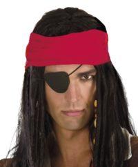 Piraten Ooglapje Foam 1stuks