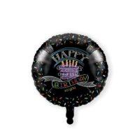 Folieballon Chalk Happy Birthday 45cm