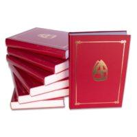 Sinterklaasboek met Mijter 350 pagina's