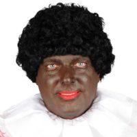 Zwarte Piet Pruik Grote Kap