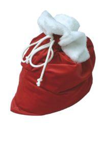Kerstzak Rood Luxe