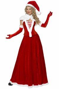 Kostuum Kerstvrouw Luxe met Accessoires Dames