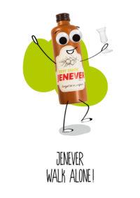 OMG Wenskaart Jenever
