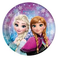 Kinderfeest Frozen 8st Borden 23cm