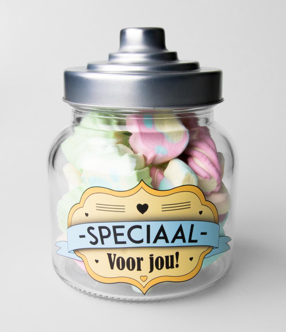 Glazen Snoeppot Speciaal voor Jou!