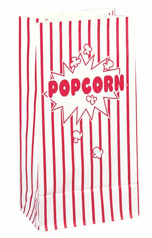 10st Papieren Zakjes Popcorn