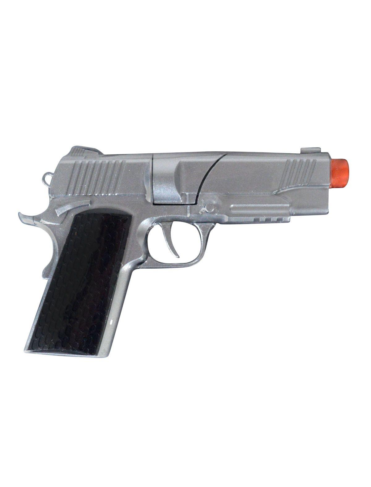 Revolver 8-schots Politie Zilver