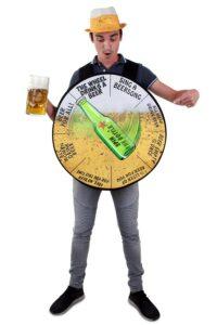 Kostuum Rad van Bier Volwassen One Size