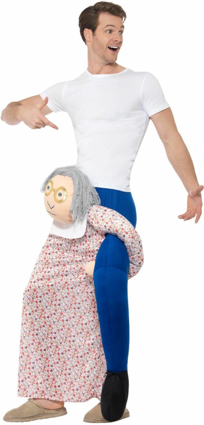 Kostuum ''Gedragen Door'' Bejaarde One Size