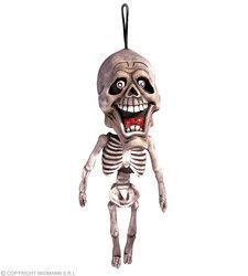 Hangdecoratie Skelet Rubber