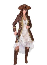 """Mantel Piraat """"Used-Look"""" Dames"""
