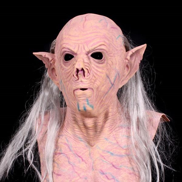 Rubber Masker Cave Monster met Borststuk