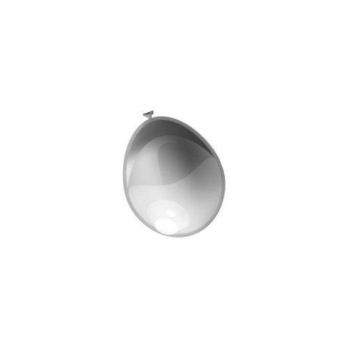"""100st Pearl Ballonnen 5"""" Zilver-026"""