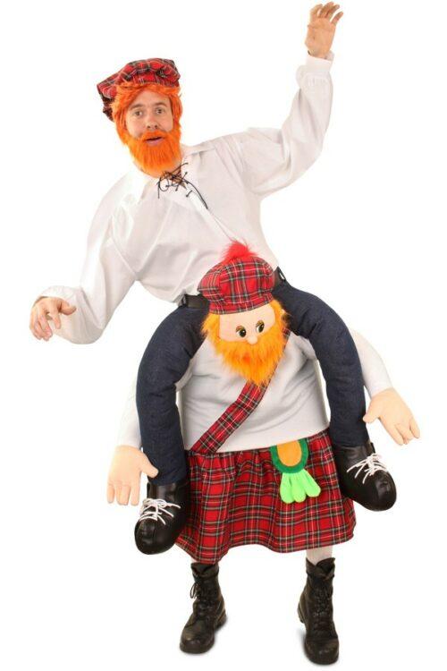 Kostuum ''Gedragen Door'' Schotse Man Volwassen One Size