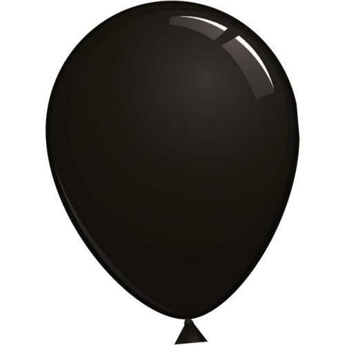 Reuze Ballon 90cm Pastel Zwart