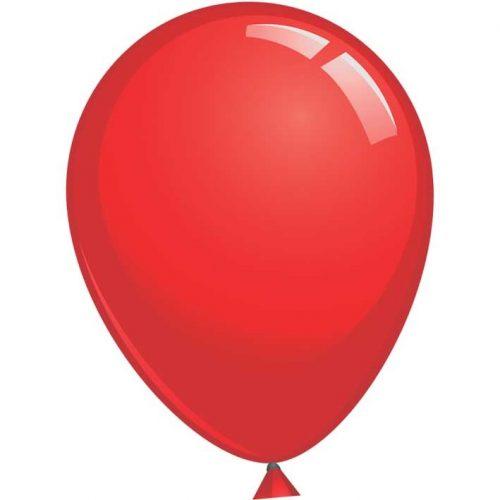 Reuze Ballon 90cm Pastel Rood