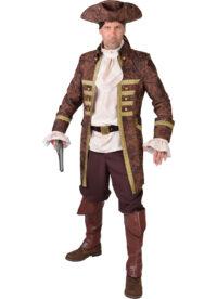 """Mantel Piraat """"Used-Look"""" Heren"""