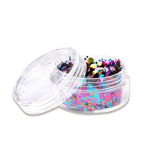 SS Glitter Fijn en Grof Gemengd Multicolor 8ml