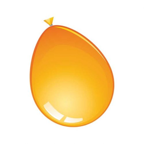 Reuze Ballon 60cm Pastel Oranje