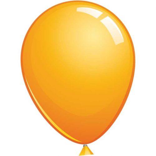Reuze Ballon 90cm Pastel Oranje