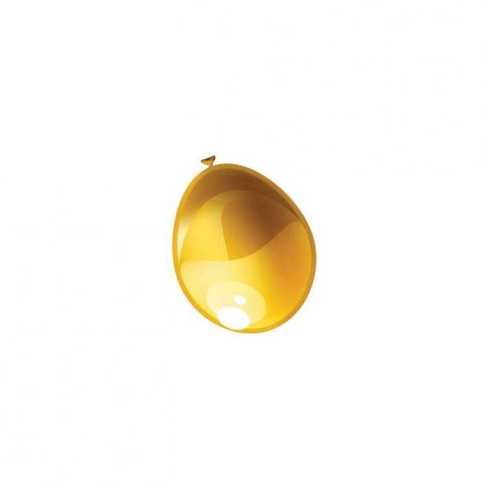 """100st Pearl Ballonnen 5"""" Goud-026"""