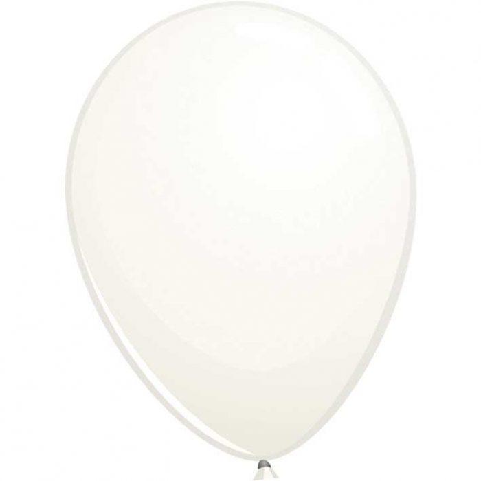 Reuze Ballon 90cm Pastel Wit