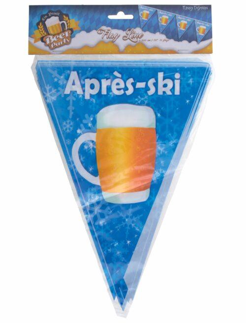 Punt Vlaggenlijn Apres Ski 5meter