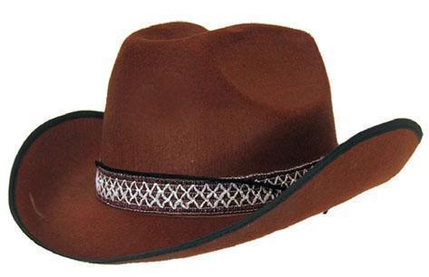 Cowboy Hoed Bruin Vilt