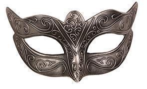 Oogmasker Venetiaans Zilver