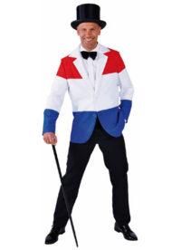 Colbert Rood-Wit-Blauw Heren