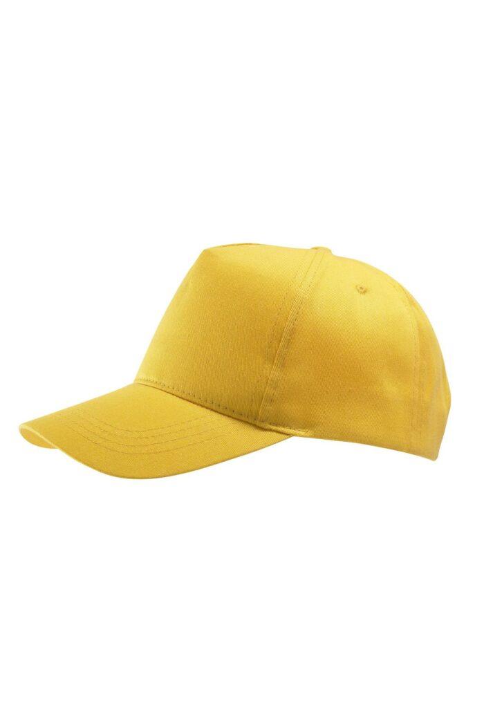 Cap Buzz Uni Geel Verstelbaar