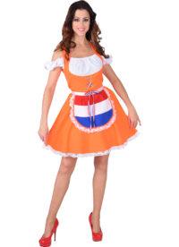 Jurkje Dirndl Nederland-Oranje Dames