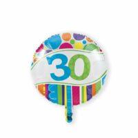 Folieballon 30 Bright & Bold 46cm