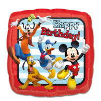Folieballon Mickey Roadster HBD 43cm