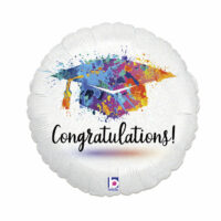 Folieballon Geslaagd Congratulations! 46cm