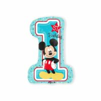 Folieballon XL 1st Birthday Mickey Boy 48x71cm