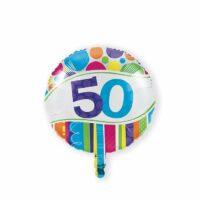 Folieballon 50 Bright & Bold 46cm