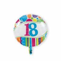 Folieballon 18 Bright & Bold 46cm