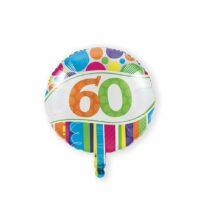 Folieballon 60 Bright & Bold 46cm