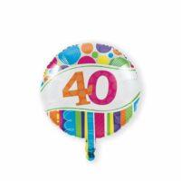 Folieballon 40 Bright & Bold 46cm