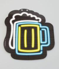 Letterslinger Symbool-Bierpul Neon